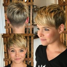 *** En blandning av alla möjliga coola korta frisyrer! Vem har att ta en titt på dessa pixie frisyrer?