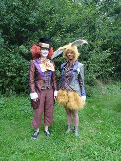 Hutmacher und Märzhase aus Alice im Wunderland