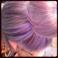 Lavender hair using #pravanavivids!!