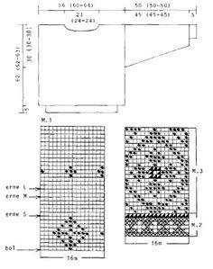 "DROPS 24-10 - DROPS jumper with flower diamond pattern in ""Karisma. - Free pattern by DROPS Design"