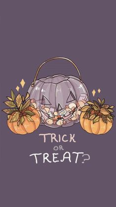 Trick or treat ? 🎃👻🤡👽