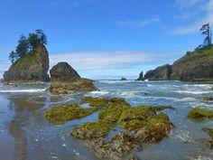 ProTrails | Second Beach, La Push - Mora Beach Trails, Olympic National Park, Washington A beautiful spot to hike to...