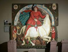 Mithras, reconstructed. Main Limes Museums