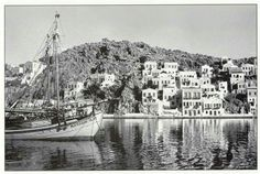 Σύμη 1950 Small Island, Once Upon A Time, Old Photos, Paris Skyline, Greece, Travel, Memories, Old Pictures, Viajes