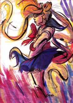I have so much fan art in my house... But no sailor moon and I think I need this!
