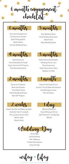 6 month wedding planning timeline - Akba.greenw.co