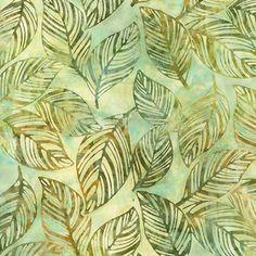 Robert Kaufman Fabrics: AMD-15476-49 OLIVE by Lunn Studios from Artisan Batiks: Color Source 6