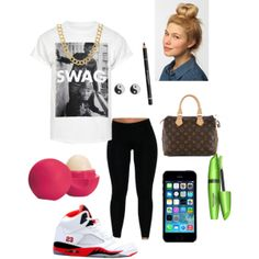 """""""Bummy but cute ;* ."""" by starr-kowlessar on Polyvore cheap air jordan 5 only $59.59, save up to 61% off"""