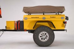 20 Off-Road Camping Trailers Perfect For Your Jeep - decoratoo Trailer Tent, Off Road Camper Trailer, Small Trailer, Trailer Build, Camper Trailers, Trailer Plans, Jeep Camping, Off Road Camping, Van Camping