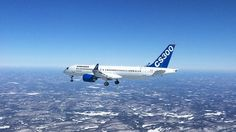 Worth to see great video of  CS300 Aircraft First Flight!