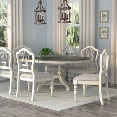 Lark Manor Alise 7 Piece Dining Set & Reviews | Wayfair