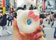 girl eat world: shibuya hello kitty donut