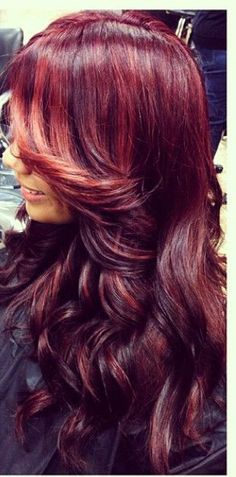Gorgeous red hair.  #Redheads Visit Beauty.com for more.