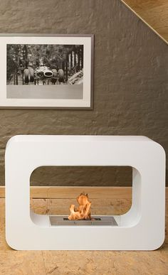 1000 images about decor on pinterest photo walls for Eco friendly fireplace