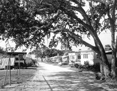 1958 Trailer park - Cape Canaveral, Florida