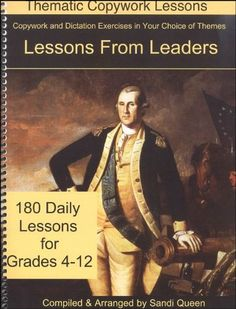 Lessons From Leaders (Thematic Copywork Lessons):Amazon:Books