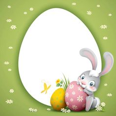 cartoon illustration of cute easter bunny with big eggs Christmas Svg, Christmas Crafts For Kids, Easter Crafts, Cute Easter Bunny, Happy Easter, Easter Paintings, Easter Illustration, Easter Backgrounds, Easter Wallpaper