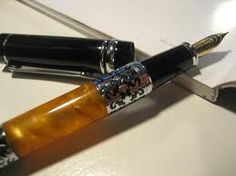 Fountain pens...I would love to purchase a nice one for myself.