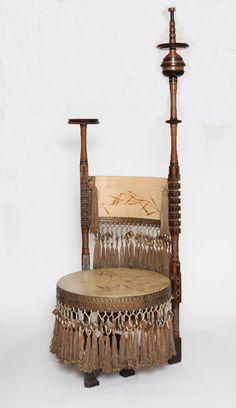 Throne Chair by Carlo Bugatti at 1stdibs