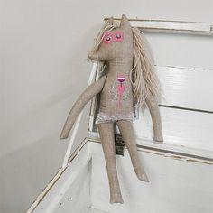 horse doll / Břichopas toys