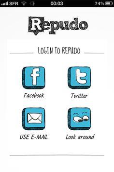 Repudo By Repudo B.V. - Category: Social Networking - Mobile UI / UX Design