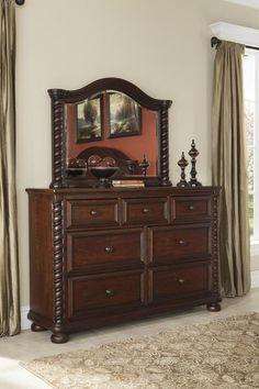 Brennville - 2pc Dresser Mirror Set