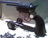 """Ready for Labor Day?  Here is your fun shopping list!  Custom 45 cal. BBQ. Colt 1879 """" Gray Lady """" style."""