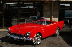 1963 Sunbeam Alpine Series III.... love these HUSKER cars!!!