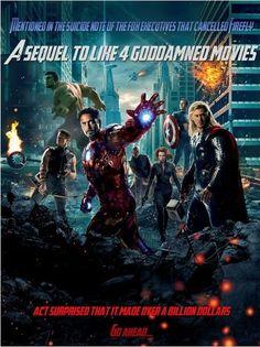 literal avengers poster