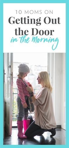 10 Mom tricks on getting out the door in the morning! Parenting Teens, Parenting Advice, How To Influence People, Kids Zone, Mom Advice, Mom Hacks, Breastfeeding Tips, Working Moms, Raising Kids