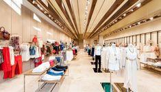 Великолепный дизайн магазина женской моды Mango в Вене