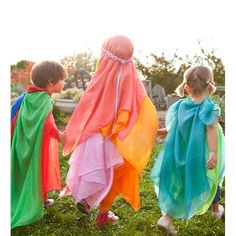 Play Silks - Many options from this site or similar, Etsy, or DIY. Any colors, patterns, or variations.