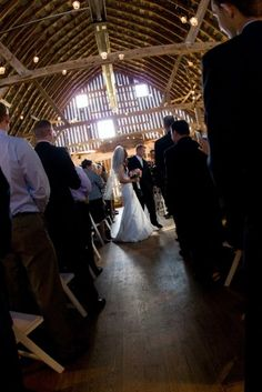 .. of natural light seeping through to your wedding