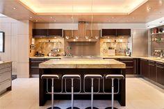luxury homes interior kitchen - Google Search