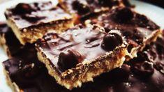 Печенье с нугой, фундуком и шоколадной глазурью