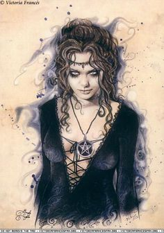 Victoria Frances gothic vampire wiccan pagan fantasy art Victoria Frances, Victoria Art, Gothic Vampire, Vampire Art, Dark Gothic, Female Vampire, Gothic Fantasy Art, Fantasy Artwork, Dark Fantasy