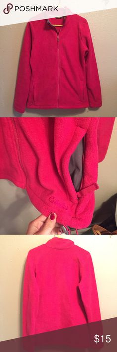 Cabela's Fleece Jacket Never worn, perfect condition pink fleece jacket from Cabela's. Super soft! cabela's Jackets & Coats