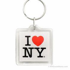 NYCwebStore.com - I Love NY Plastic Key Chain, $1.99 (http://www.nycwebstore.com/i-love-ny-plastic-key-chain/)