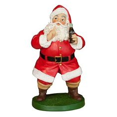 """Coca-Cola Sundblom """"Keep Quiet"""" Santa"""