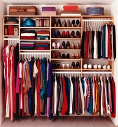 Built In Wardrobe Closet Ideas