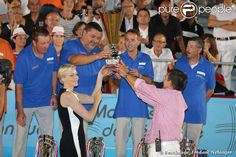 Princess Charlene attended the Finales of the 'Monaco Petanque Masters 2013'  in Monte-Carlo