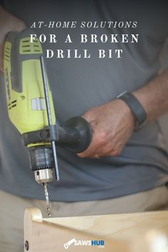 Your drill bit is broken, so what do you do now? We put together a guide on how to remove the drill bit correctly and safely. #sawshub #drill #bit #drillbit Drill Bit Sizes, Cheap Tools, T Home, Great Gifts For Men, Hammer Drill, Stick It Out, Home Repair, Home Improvement Projects, Cleaning Hacks