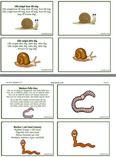 Gratis sångkort om smådjur i naturen Educational Activities For Kids, Work Inspiration, Montessori, Preschool, Teaching, Experiment, Earth, Squirrels, Dinghy