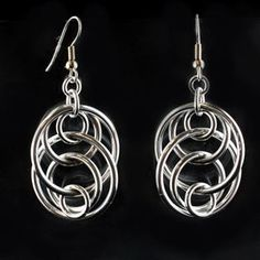 Tutorial DIY Wire Jewelry  Image    Description  Free PDF for Right or Left-handed - Illusion Loop Earrings from Blue Buddha Boutique.  #Wire #Jewelry #Tutorials