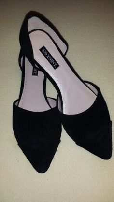 Day 9: Suede flats from Shoemint!