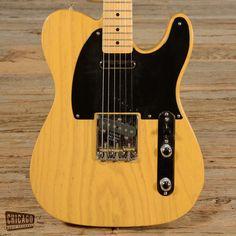 Fender '52 Telecaster Reissue Butterscotch Blonde 2007 (s464)