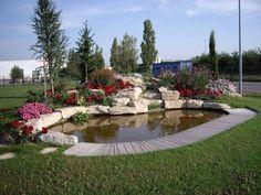 Plus de 1000 id es propos de bassin de jardin sur - Amenagement jardin avec bassin ...