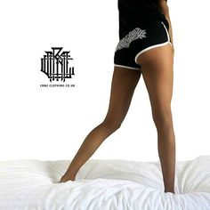 """Murderous"" Gym Shorts available at www.crmc-clothing.co.uk 