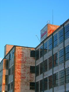 Old Bata Factory in East Tilbury, UK