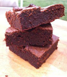 Fudgy Paleo Brownies (grain-free, date-sweetened) | sola fide ~ @Sarah Chintomby Larson